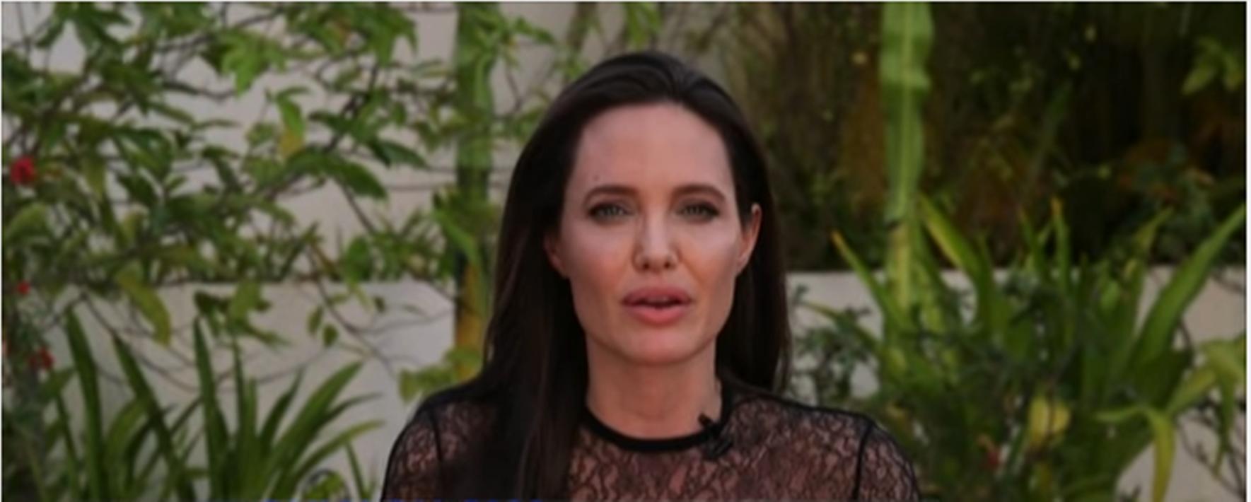 Angelina Jolie Brad Pitt New Man