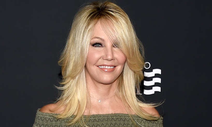 Heather Locklear And Chris Heisser Look Happy And In Love In Pictures Ahead Of Their Wedding - 'Melrose Place' Actress Went Makeup-Free - US Daily Report